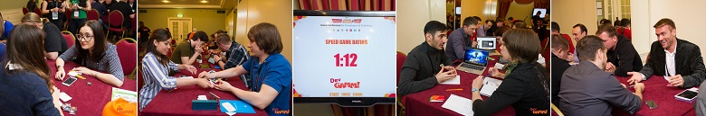 Speed Game Dating at DevGamm
