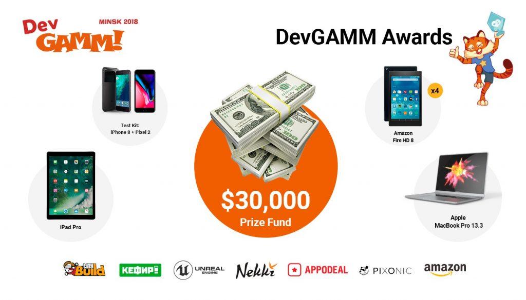 Объявлены номинанты DevGAMM Awards в Минске