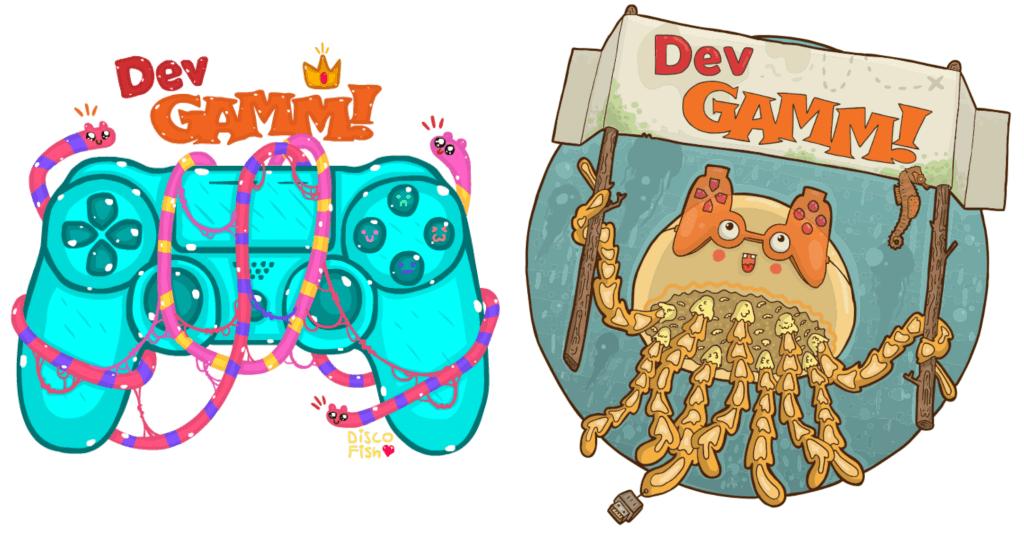 DevGAMM Mascots