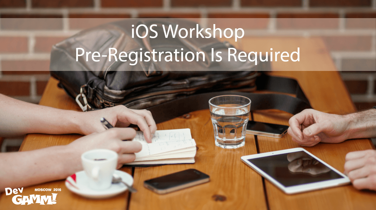iOS-Workshop DevGAMM