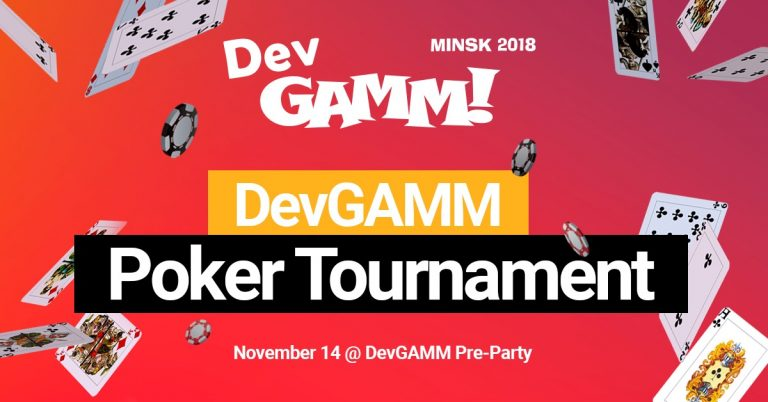 Registration to DevGAMM Poker Tournament is Open
