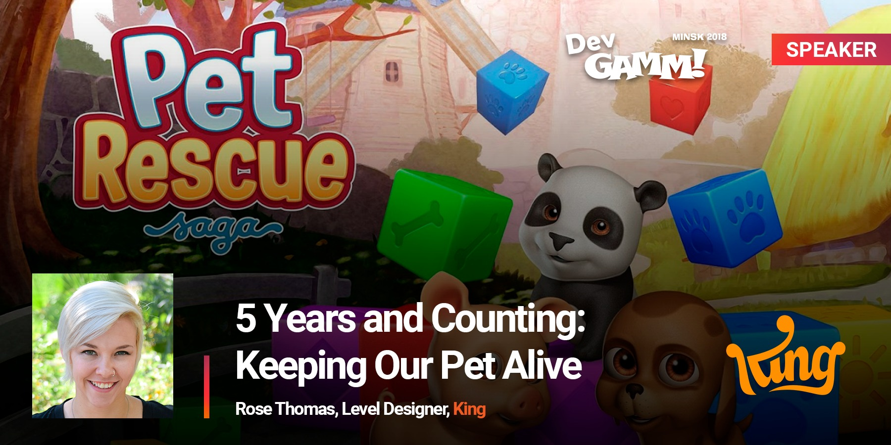 Pet Rescue Saga | DevGAMM Moscow 2019
