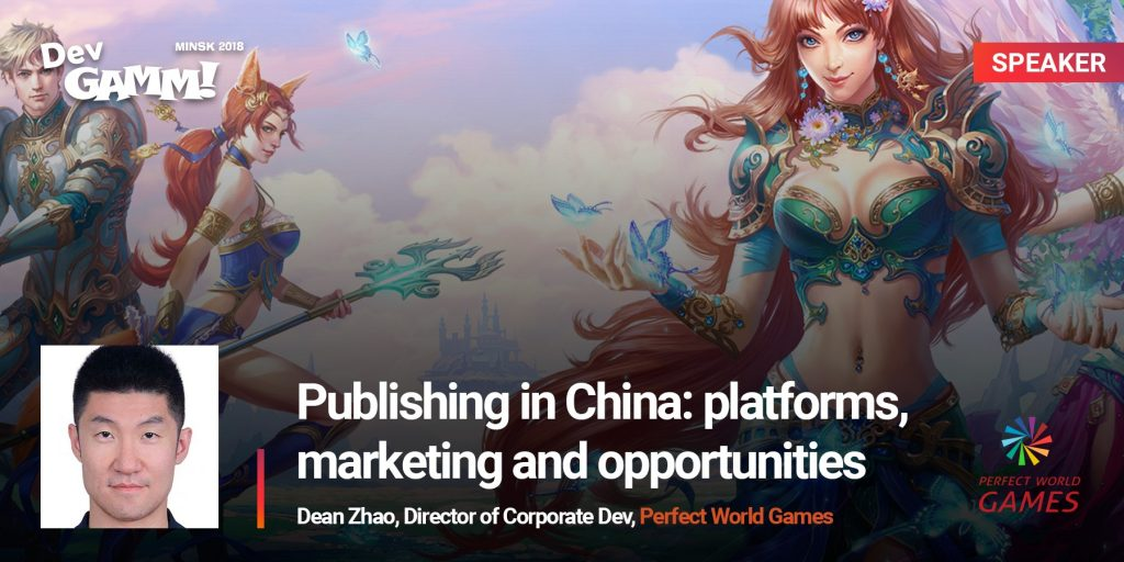 Dean Zhao from Perfect World Games talks publishing in China