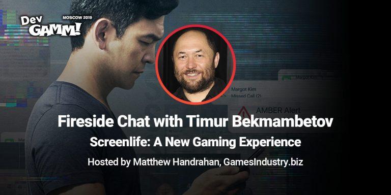 Fireside chat: Timur Bekmambetov and Matthew Handrahan