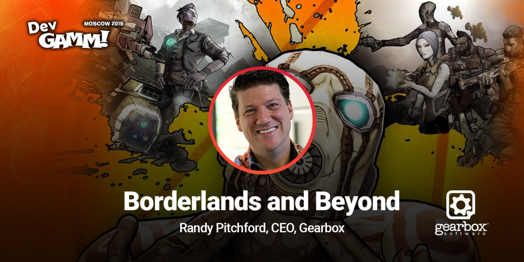 Keynote: Randy Pitchford talks about Borderlands and Beyond