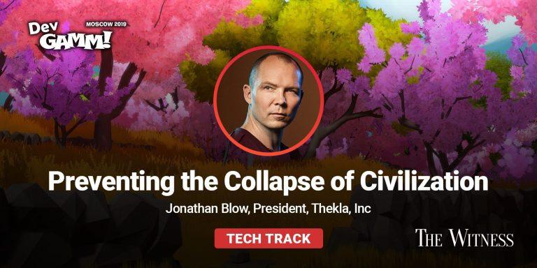 Jonathan Blow Keynote & Other Tech Talks