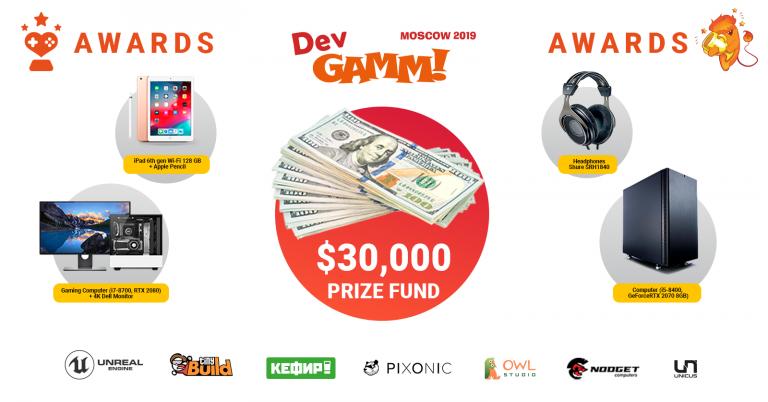 Известны номинанты DevGAMM Awards