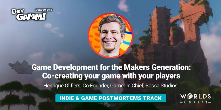 Henrique Olifiers on co-creating a game with your players & indie sessions