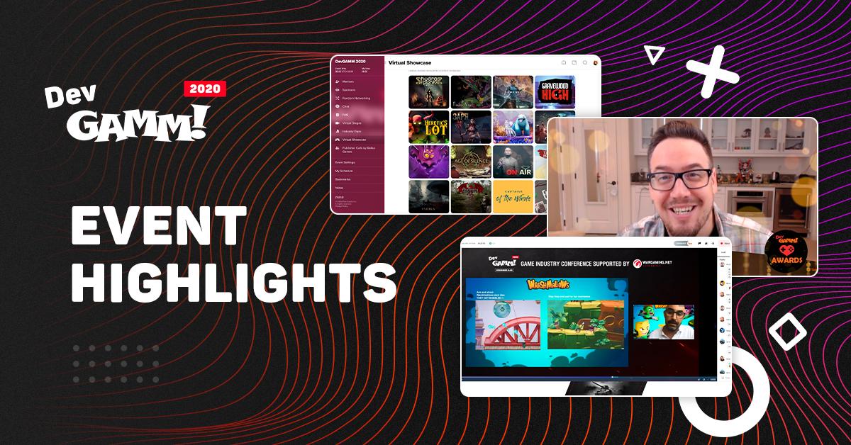 DevGAMM 2020 Highlights