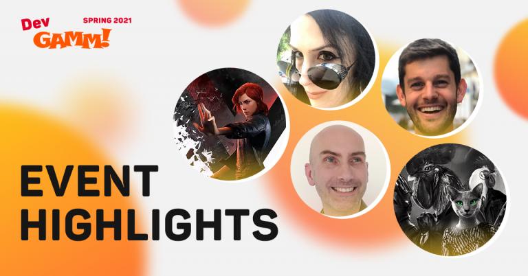 DevGAMM Spring 2021 Highlights