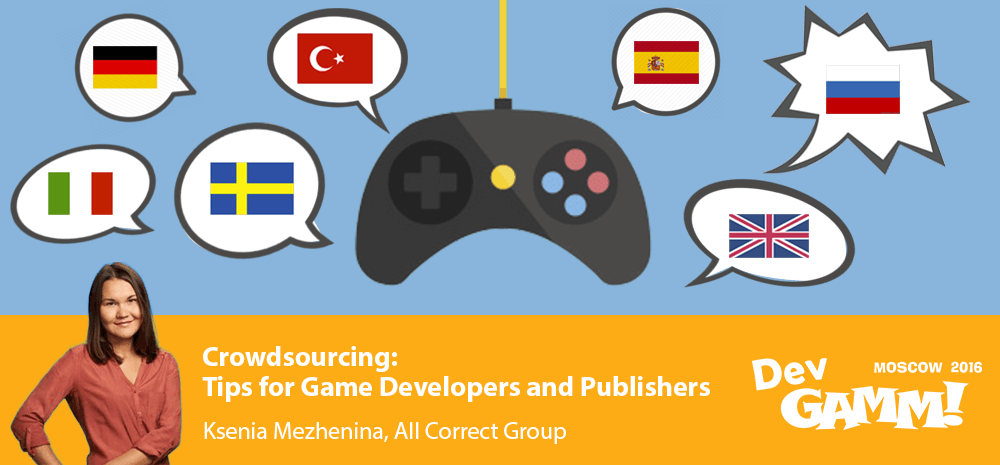 Localization Crowdsourcing: Tips for Game Developers and Publishers