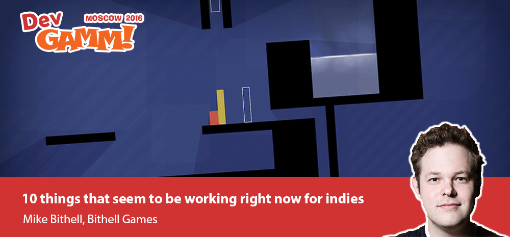 Thomas Was Alone Creator Mike Bithell Is Coming To DevGAMM