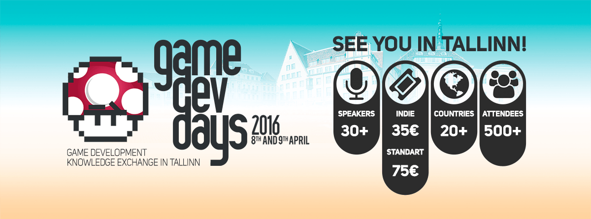 Tallinn to Host GameDev Days 2016
