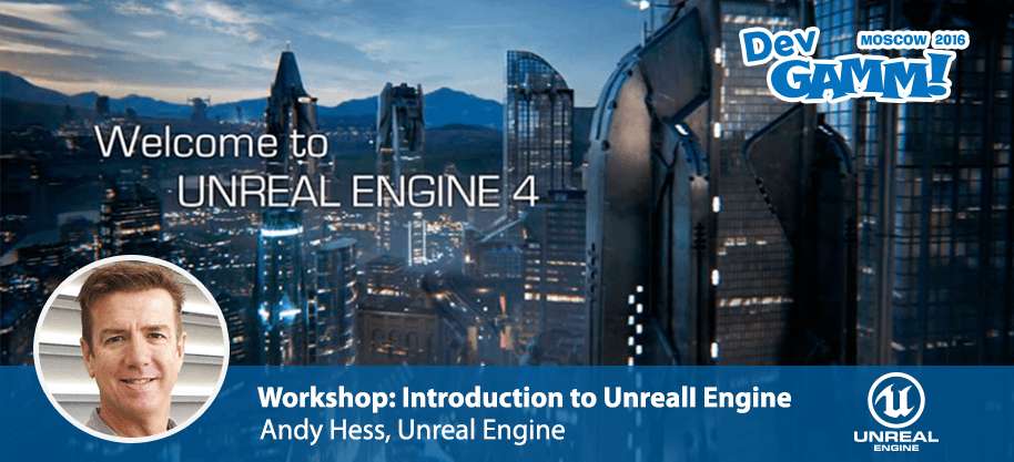 Workshop: Introduction to Unreal