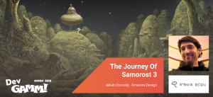 First Keynote Announced: The Journey Of Samorost 3 by Jakub Dvorský