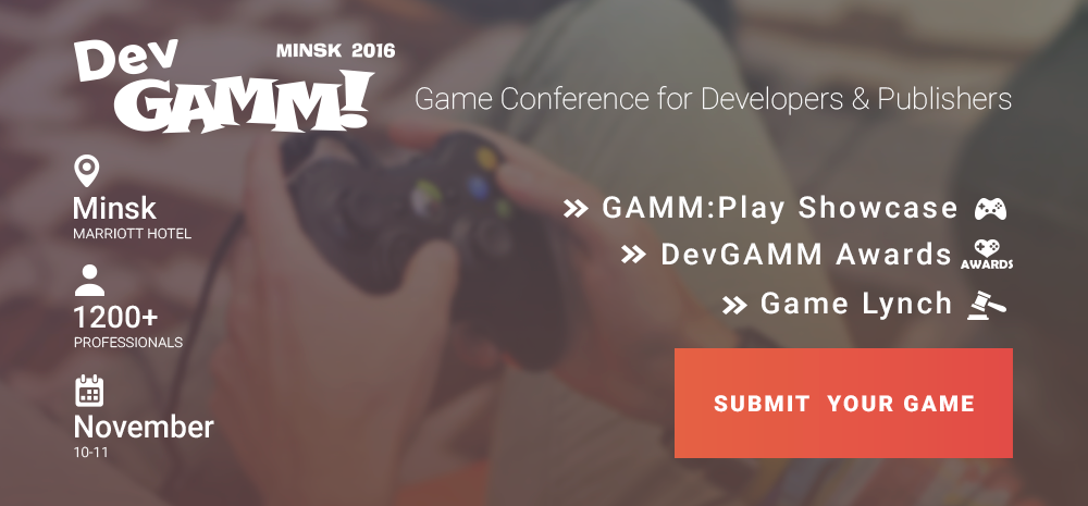 DevGAMM opens game submissions for Awards, Showcase and other activities