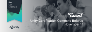Unity Certified Developer Exam Comes To Belarus