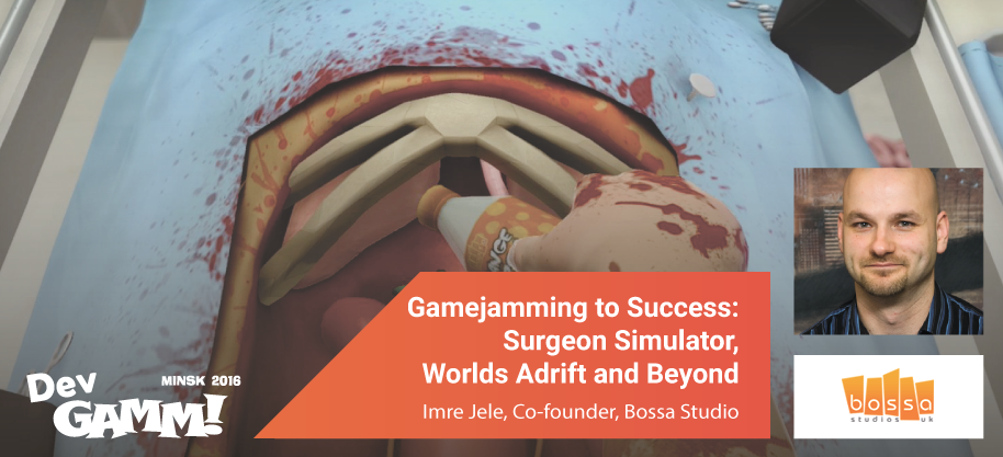 Game Jams benefits explained by Surgeon Simulator & I Am Bread creator