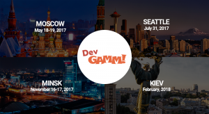When will be the next DevGAMM conference? Plans for a year