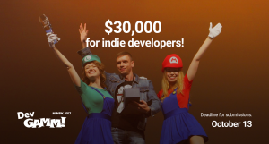 $30,000 dollars for indie developers at DevGAMM Minsk 2017
