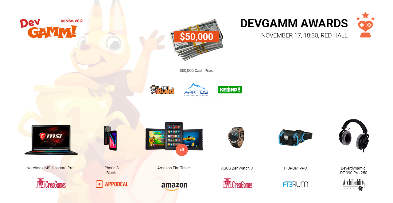 DevGAMM Awards Nominees Revealed