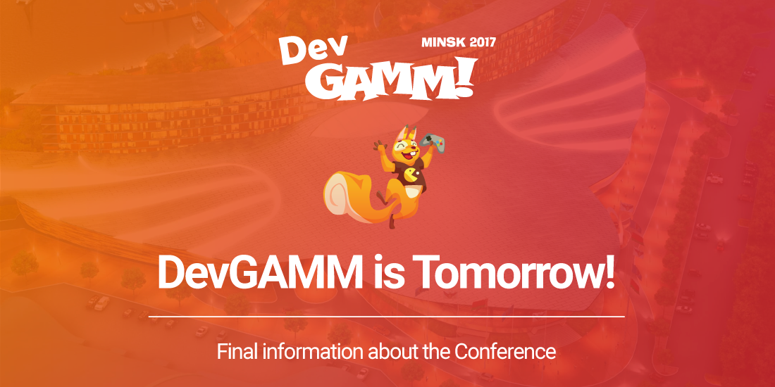 DevGAMM starts on Thursday