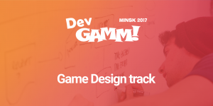 Game Design Track in Minsk